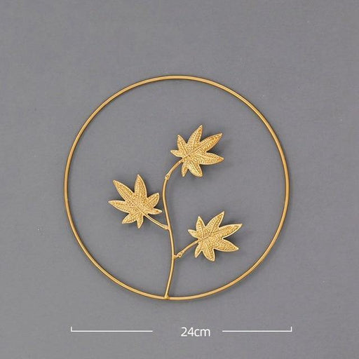 Leaf Shape Iron Art - LuxVerve