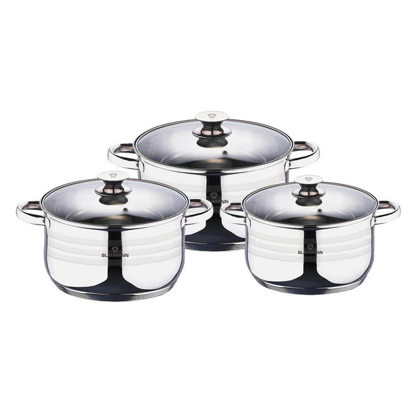 Berlinger Haus 6 pcs cookware set A, Gourmet Line