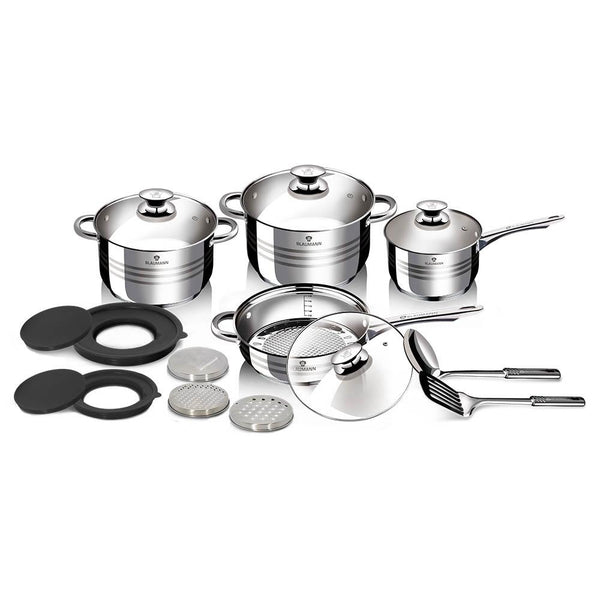 Berlinger Haus 15 pcs Cookware Set, Gormet Line