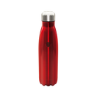 17 oz Stainless Steel Vacuum Flask Bottle Shape, Burgundy Collection by Berlinger Haus