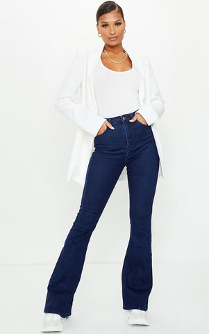 Dark Blue BootCut Flare Jeans