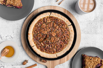 SMOKED CANDIED PECAN PIE