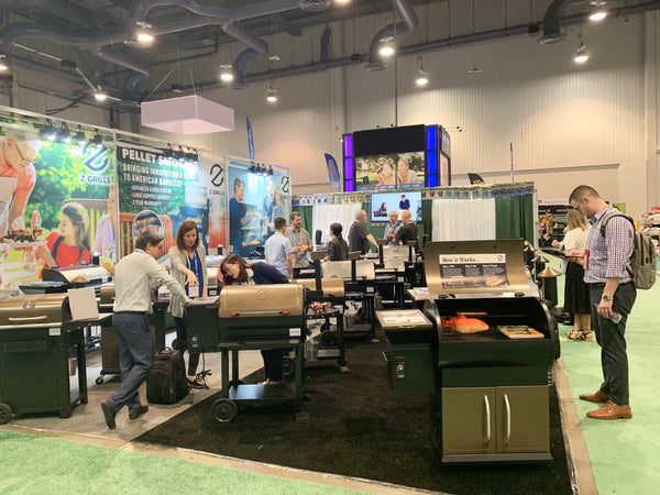 Z Grills Represents at the National Hardware Show