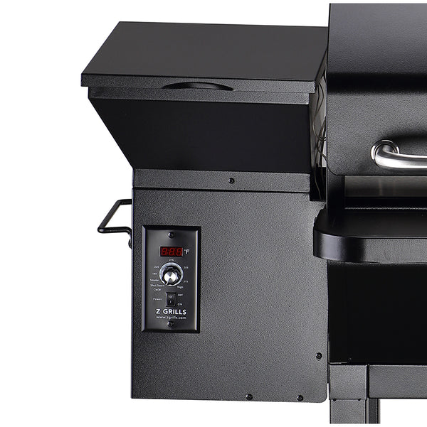 NEW ARRIVAL ZPG-10002B 8 IN 1 WOOD PELLET GRILL & SMOKER