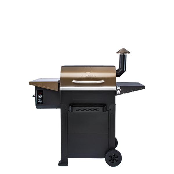 ZPG-L6002B 8 IN 1 WOOD PELLET GRILL & SMOKER