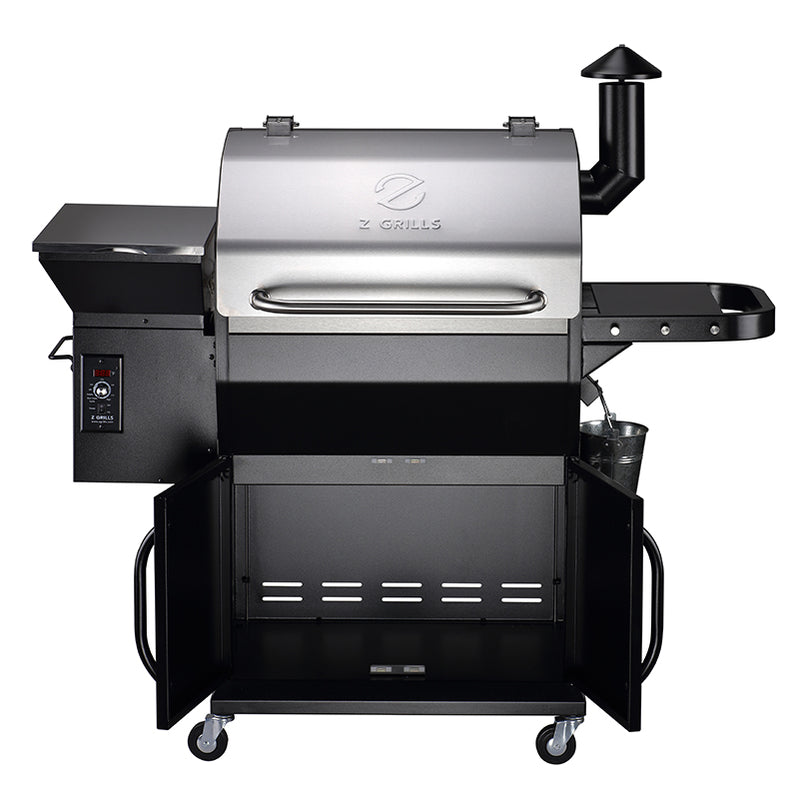 NEW ARRIVAL ZPG-1000E 8 IN 1 WOOD PELLET GRILL & SMOKER