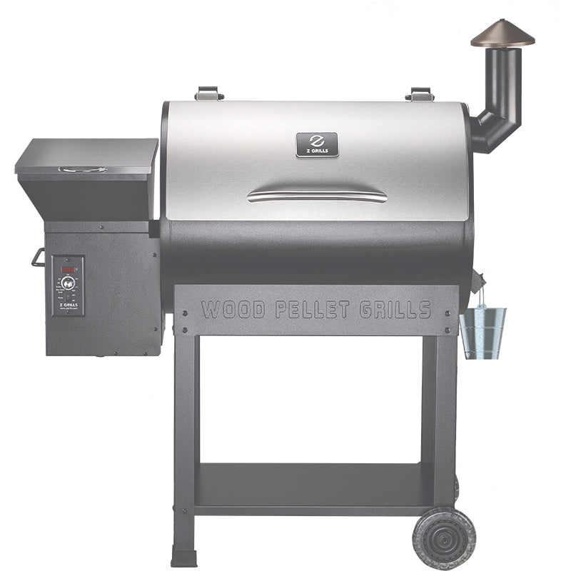 Z GRILLS-7002E 8 IN 1 WOOD PELLET GRILL & SMOKER