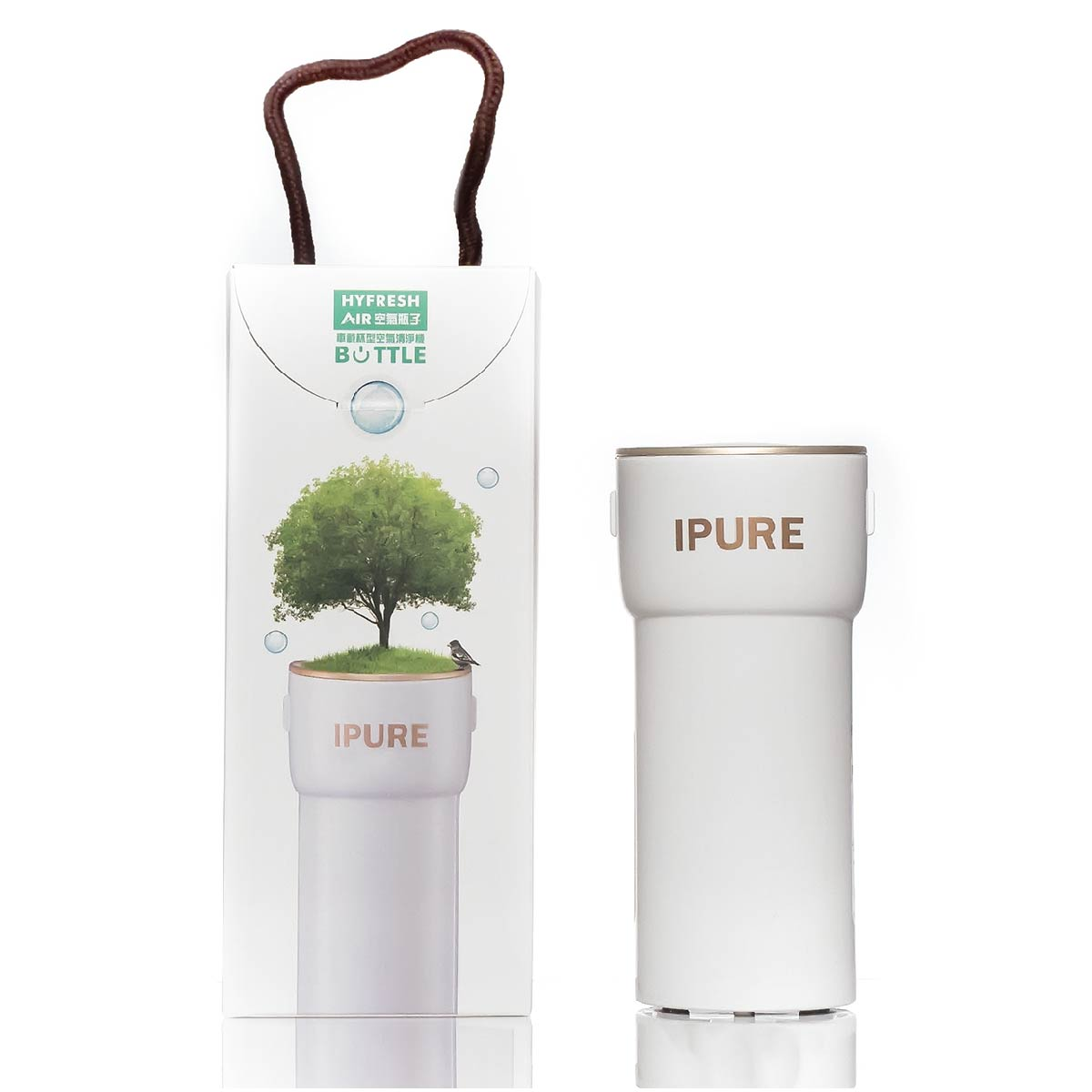 IPure Air Purifier with TRUE HEPA Filter