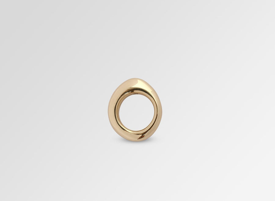Slate Ring - Brass