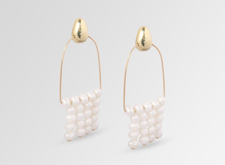 Goddess Pearl Earrings