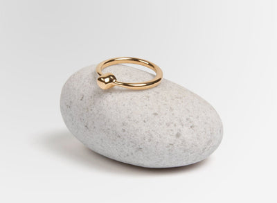 Louise Olsen Tower of Love Ring - Gold