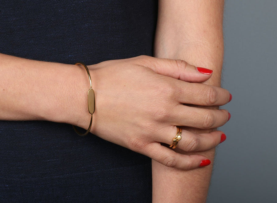 Louise Olsen Small Love Dot Ring - Gold