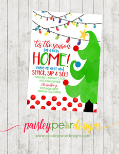 Whimsy Christmas Party - Christmas Party Invitation