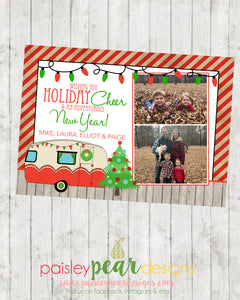 Holiday Adventure - Christmas Photo Card