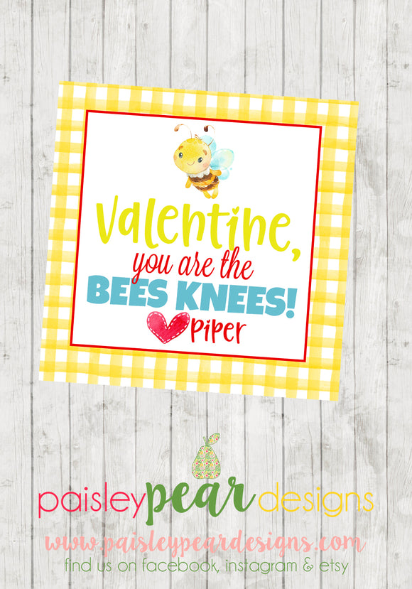 Bees Knees - Valentine Tags