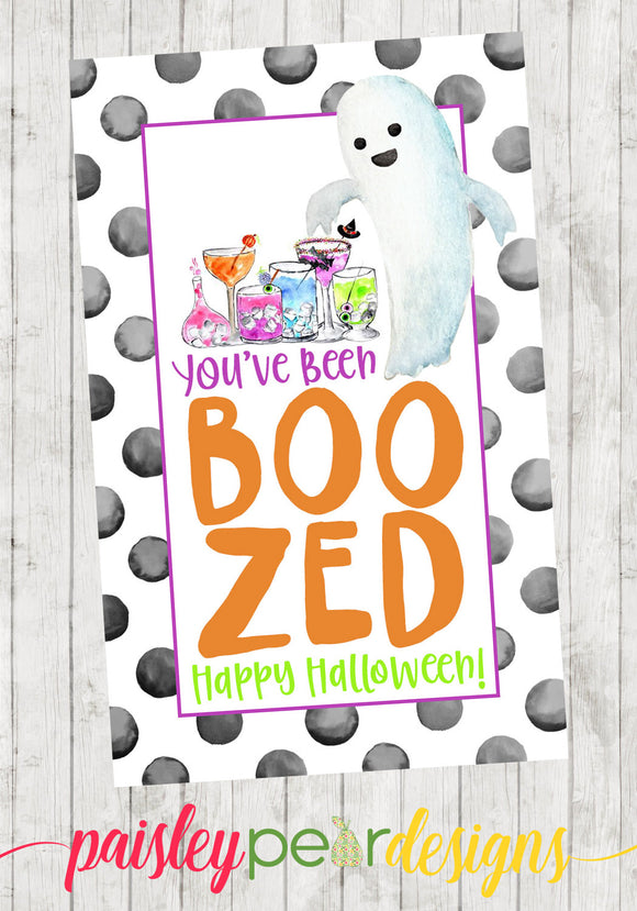 Boozed - Halloween Tag