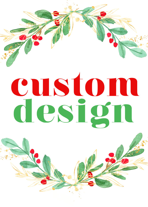 Custom Design - Christmas Treat Tags