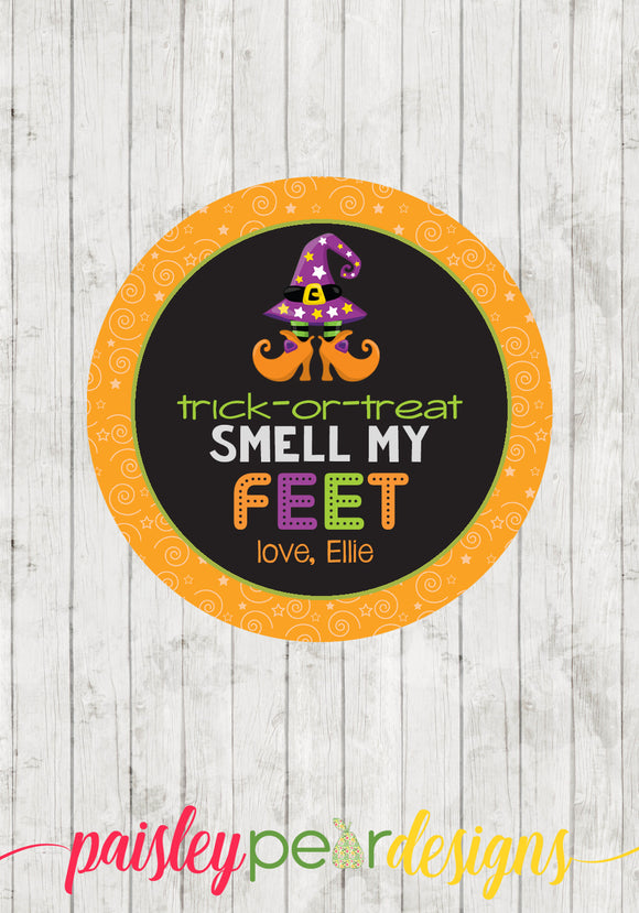Smell My Feet Girl Tag