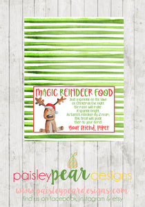 Magic Reindeer Food - Christmas Treat Tags