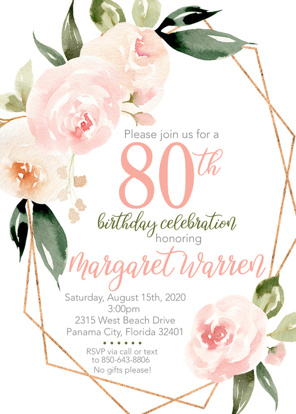 Birthday Invitations - 20