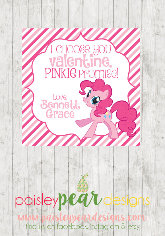 Little Pony - Valentine Tags