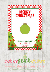 Ornament - Christmas Treat Tags