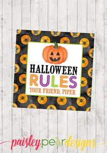 Halloween Rules Tag