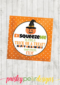 Squeeze Halloween Tag
