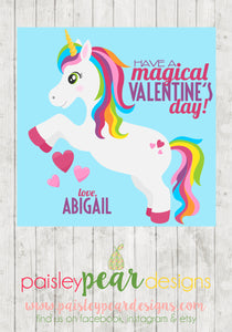 Magical Valentines - Treat Tags