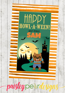 Warewolf - Howl-A-Ween Tag