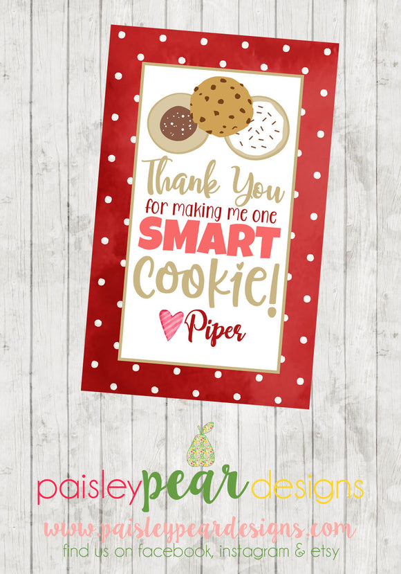Smart Cookie - Teacher Tag