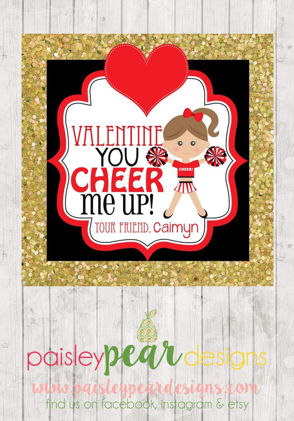Cheer Me Up - Valentine Tags