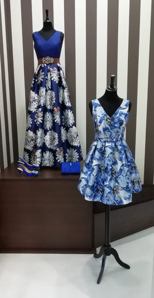 BABY DOLL BLUE DRESS