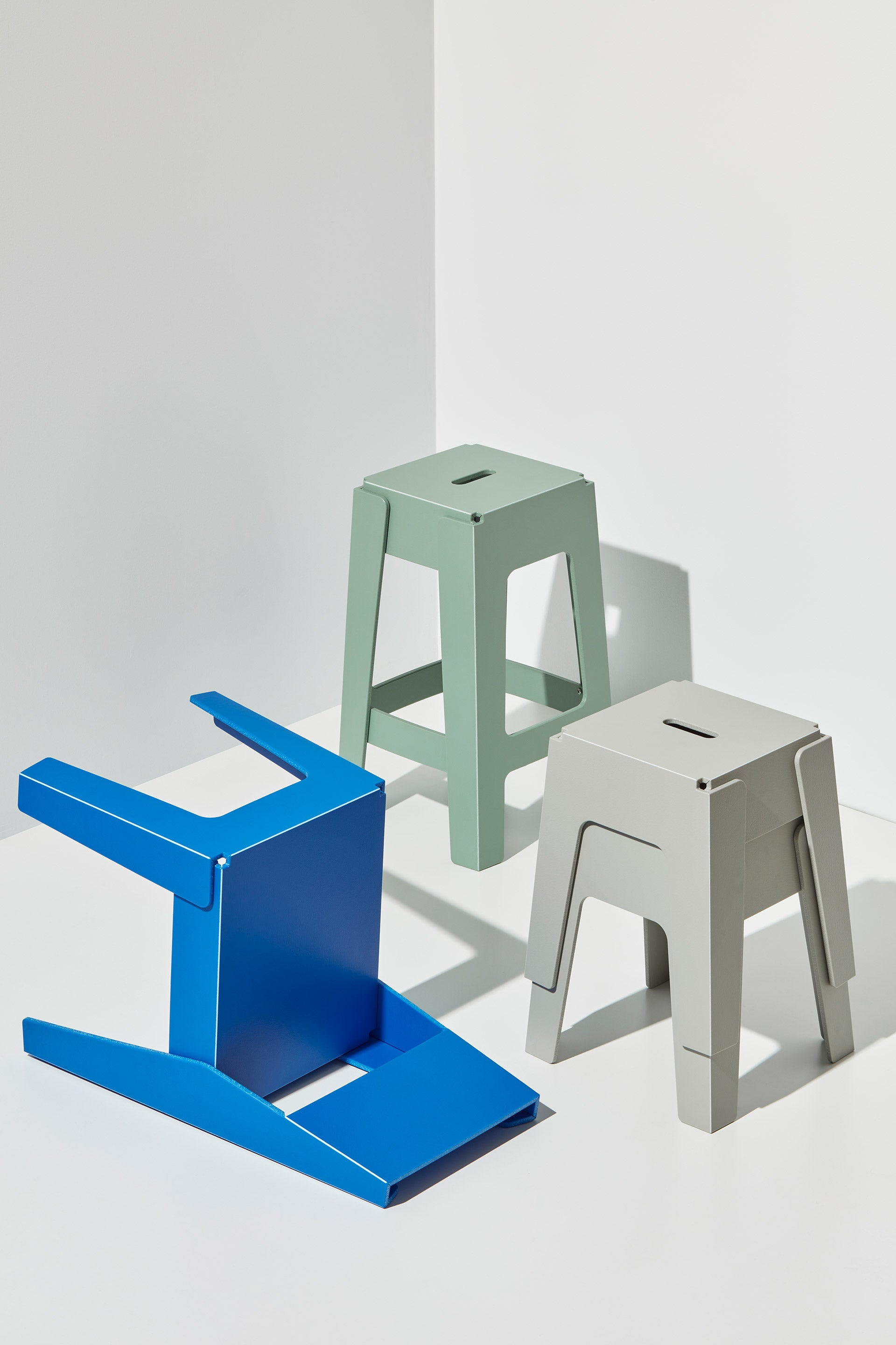 Butter Chair and Stool and Bar Stool   Recycled Plastic Furniture   Indoor Outdoor Waterproof   Gibson Karlo   DesignByThem