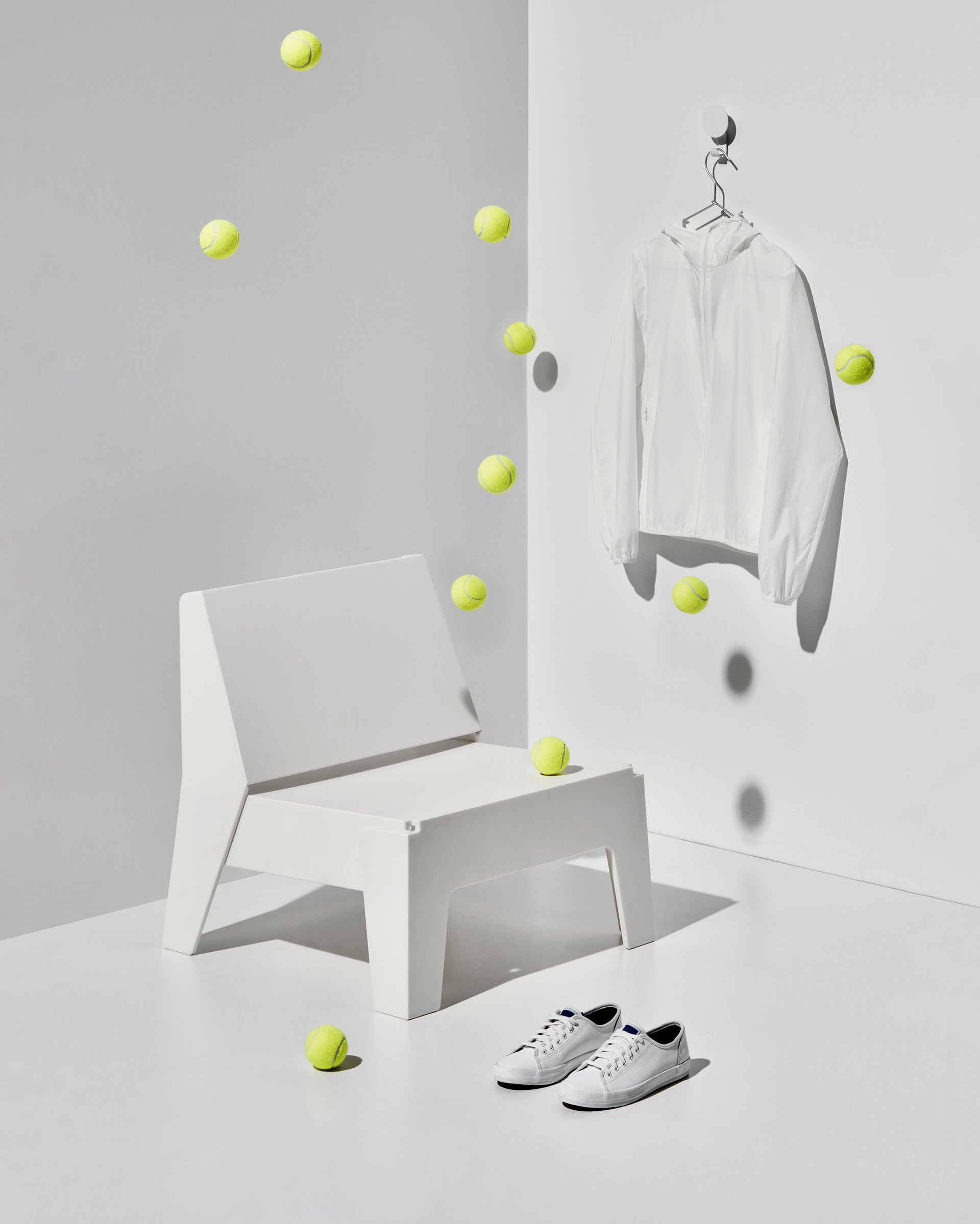 White Butter Seat   Recycled Plastic Furniture   Indoor Outdoor Waterproof   Gibson Karlo   DesignByThem