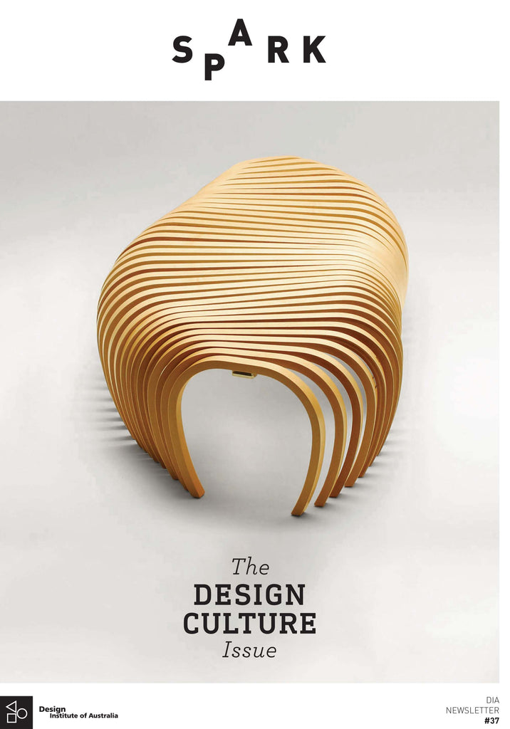 DIA newsletter Spark Ribs Bench by Stefan Lie