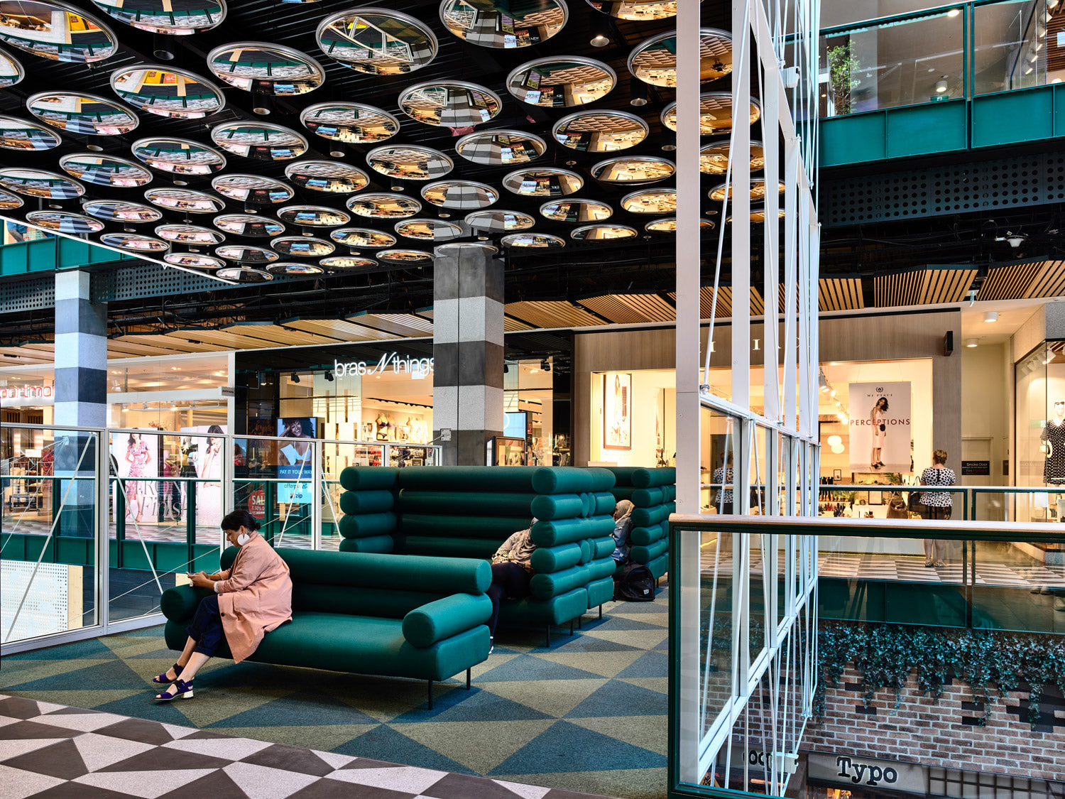 Cabin Lounges by GibsonKarlo at Melbourne Central, Kennedy Nolan