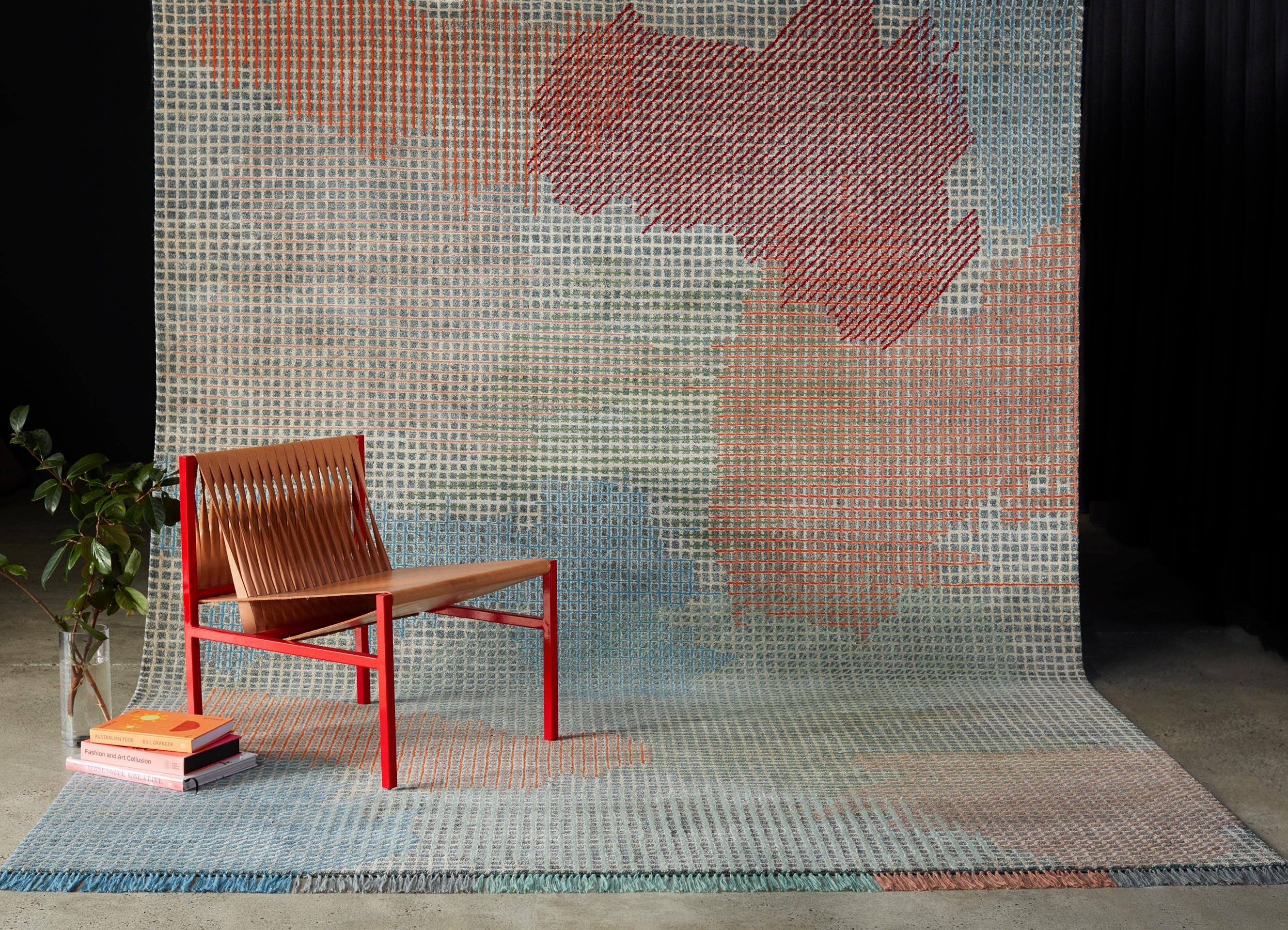 Griglia Rugs by Tappeti   DL Lounge Chair   DesignByThem