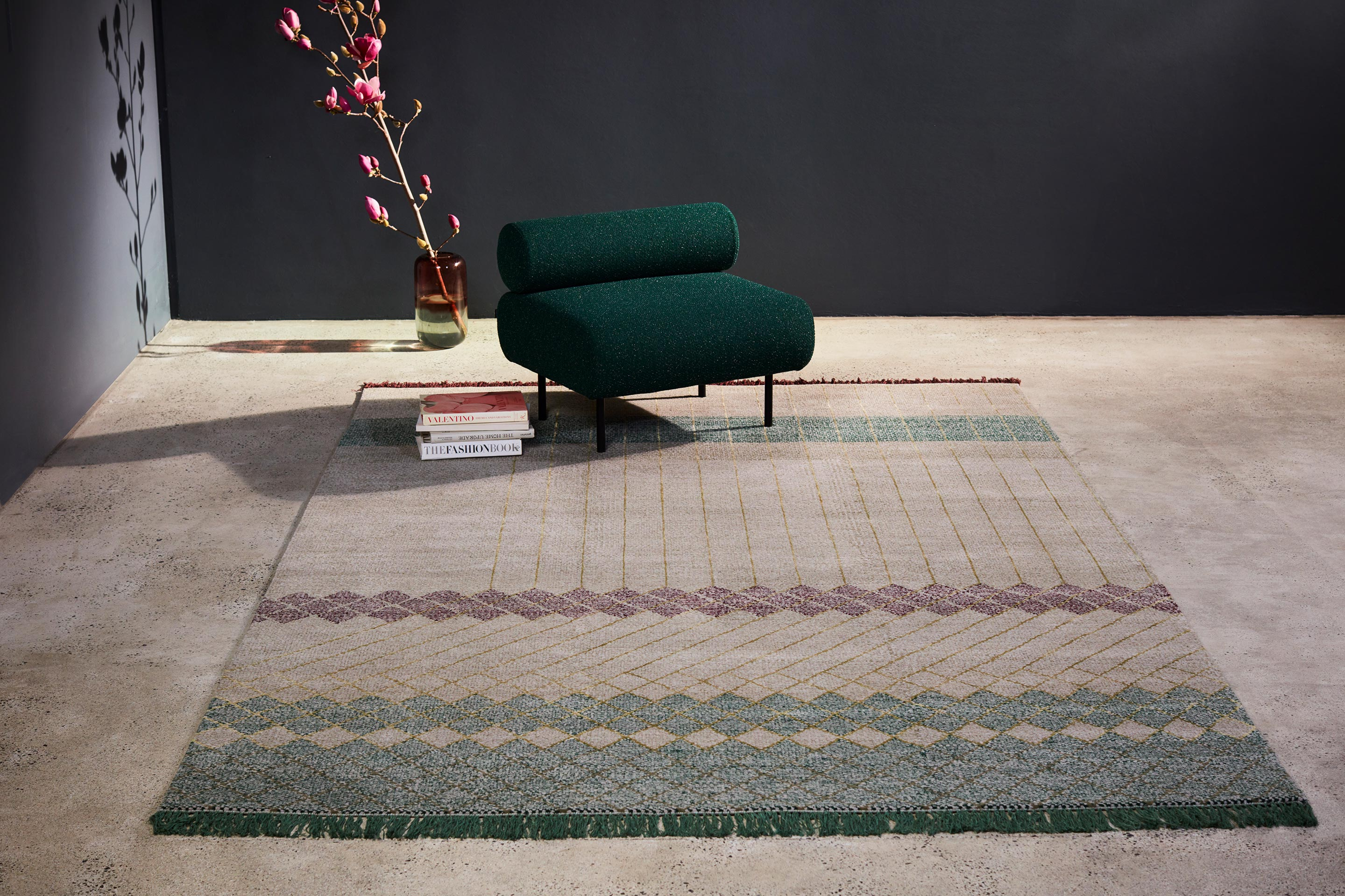 Griglia Rugs by Tappeti   Cabin Seat   DesignByThem