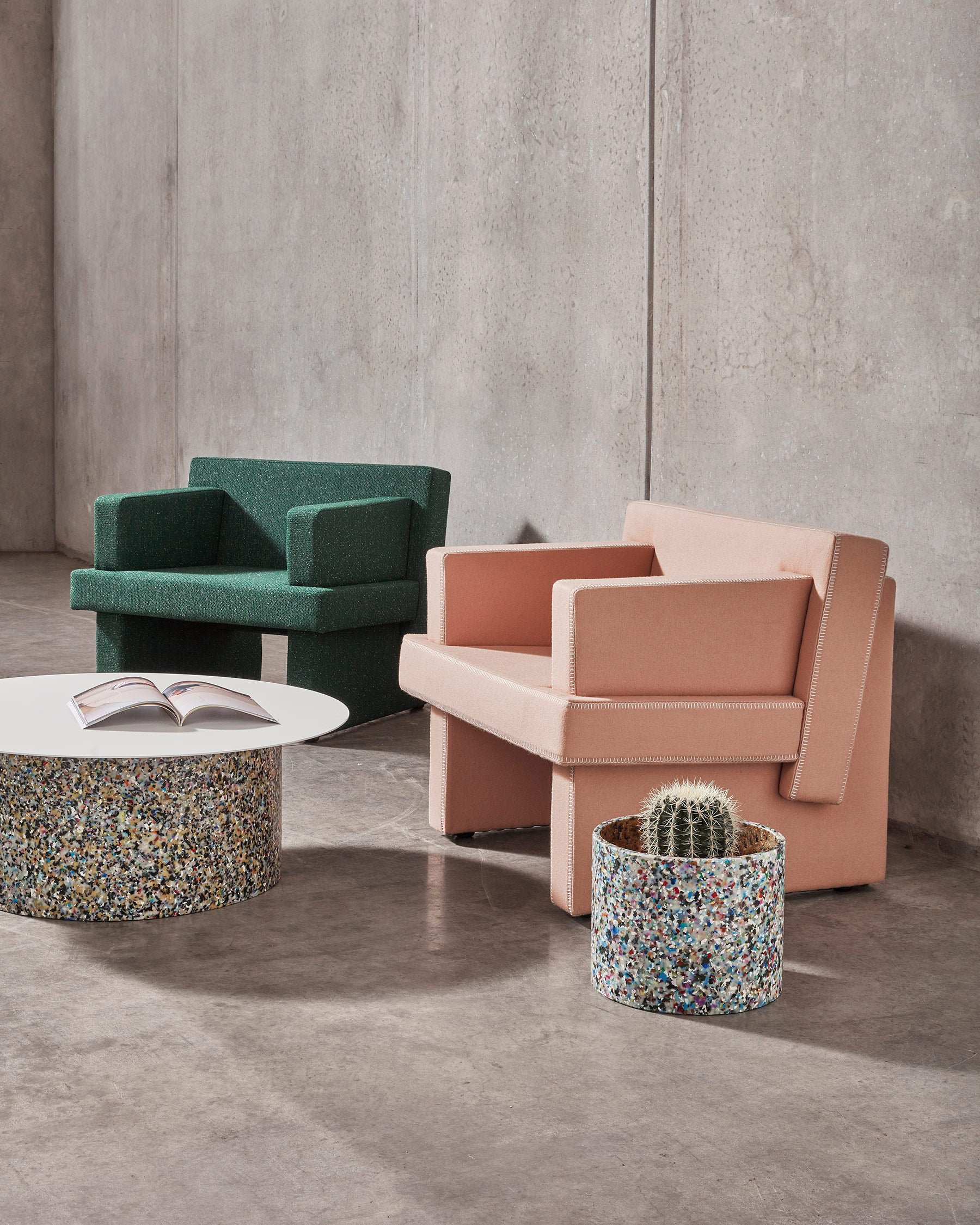 August Armchairs & Lounges | Upholstered Home and Commercial Seating | Gibson Karlo | Sarah Gibson & Nicholas Karlovasitis | DesignByThem