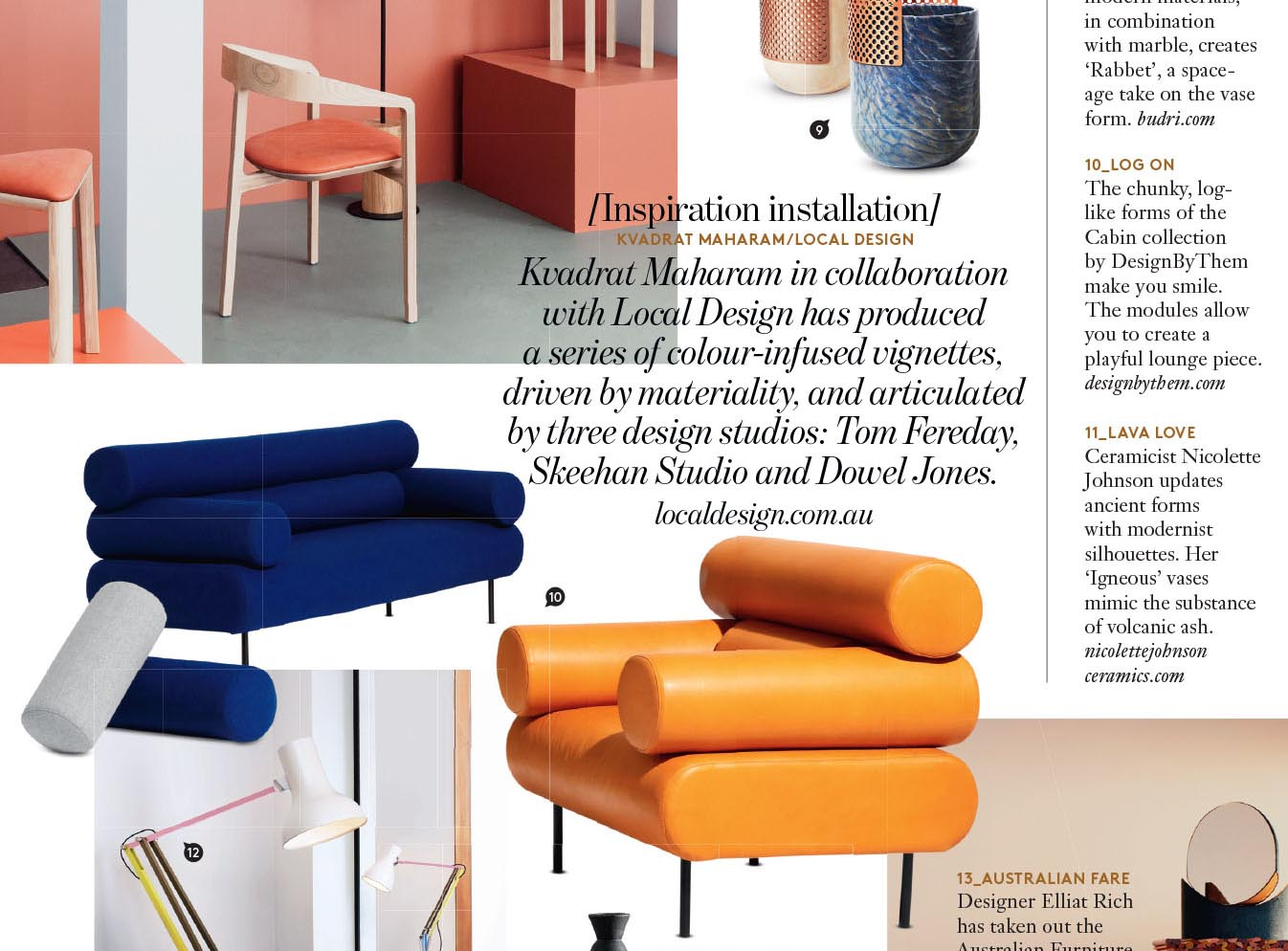 Belle Magazine | Cabin Lounges