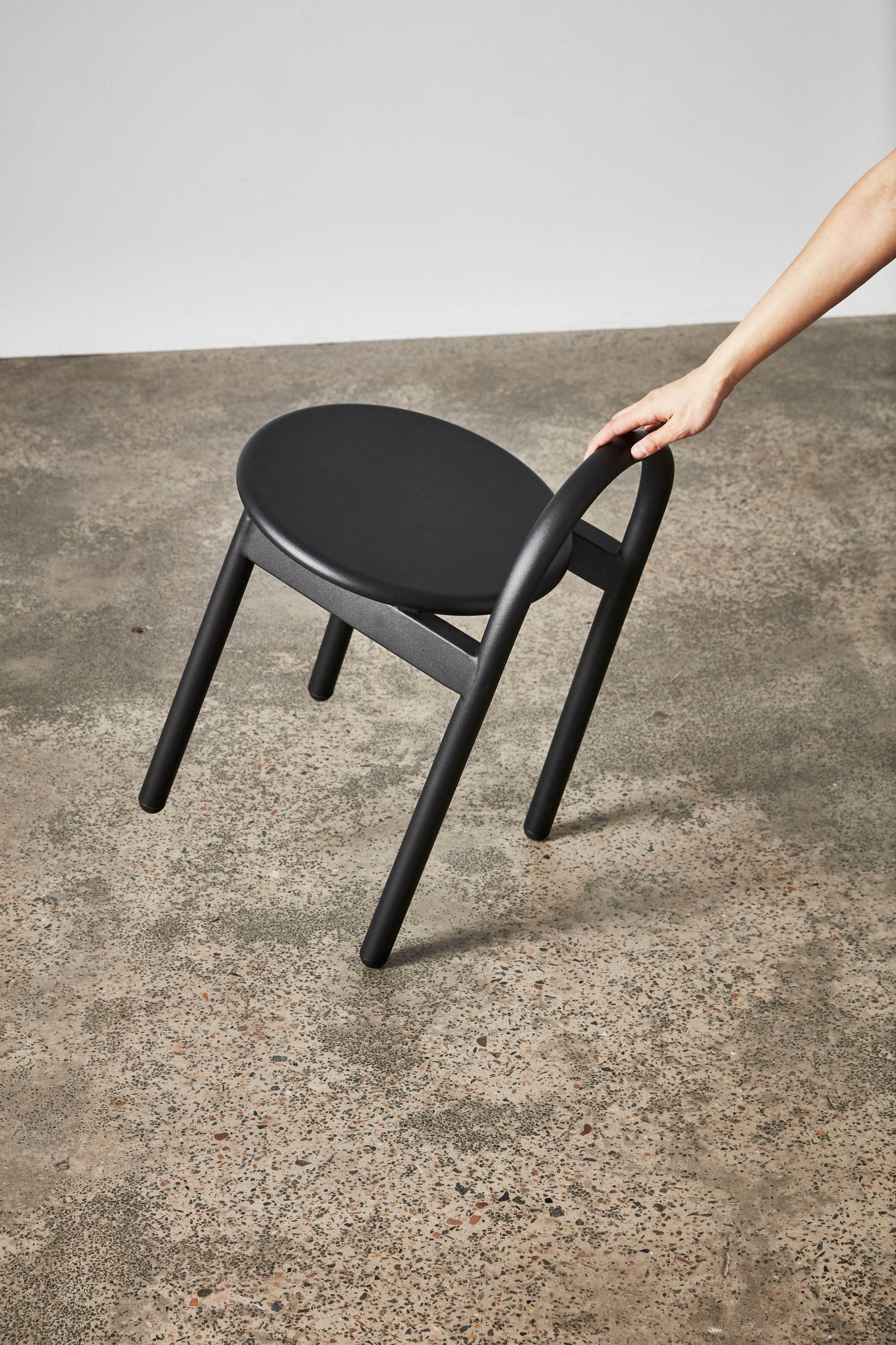 Bobby Metal Low and Bar Stool | Stainless steel outdoor stool | DesignByThem
