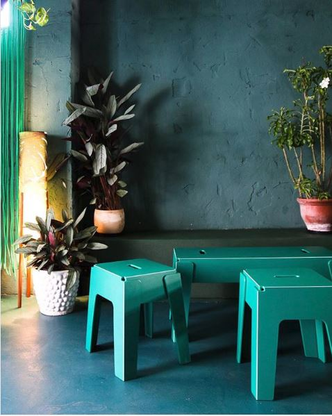 Butter Stools & Benches by GibsonKarlo at Ronnie Nights, Spaceagency