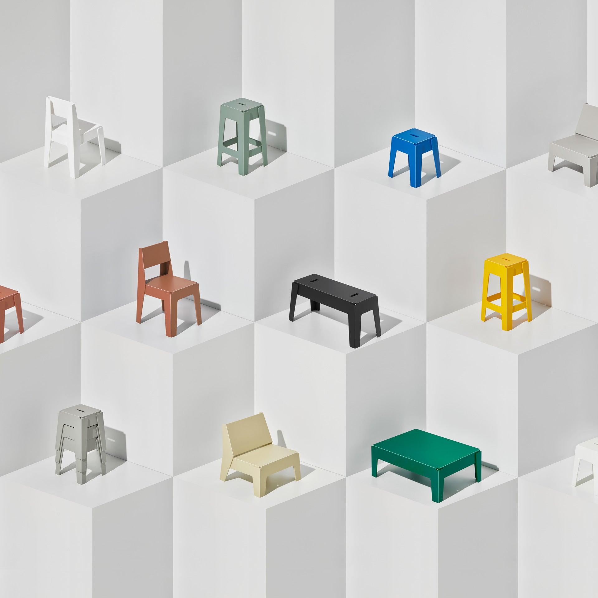 Butter Collection   Recycled Plastic Furniture   Indoor Outdoor Waterproof   Gibson Karlo   DesignByThem