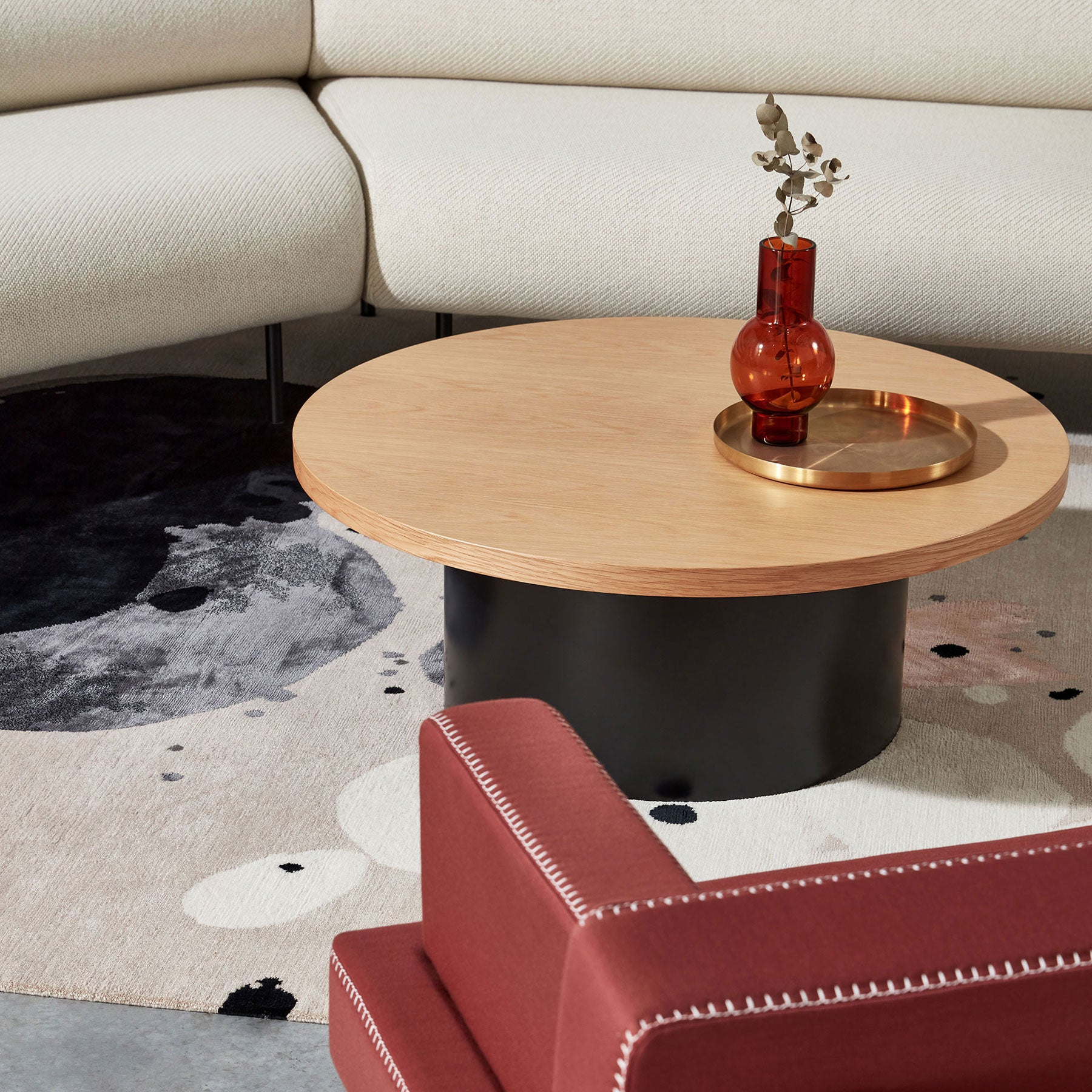 Dial Coffee Table | Black, White or Timber Indoor or Outdoor Use | DesignByThem