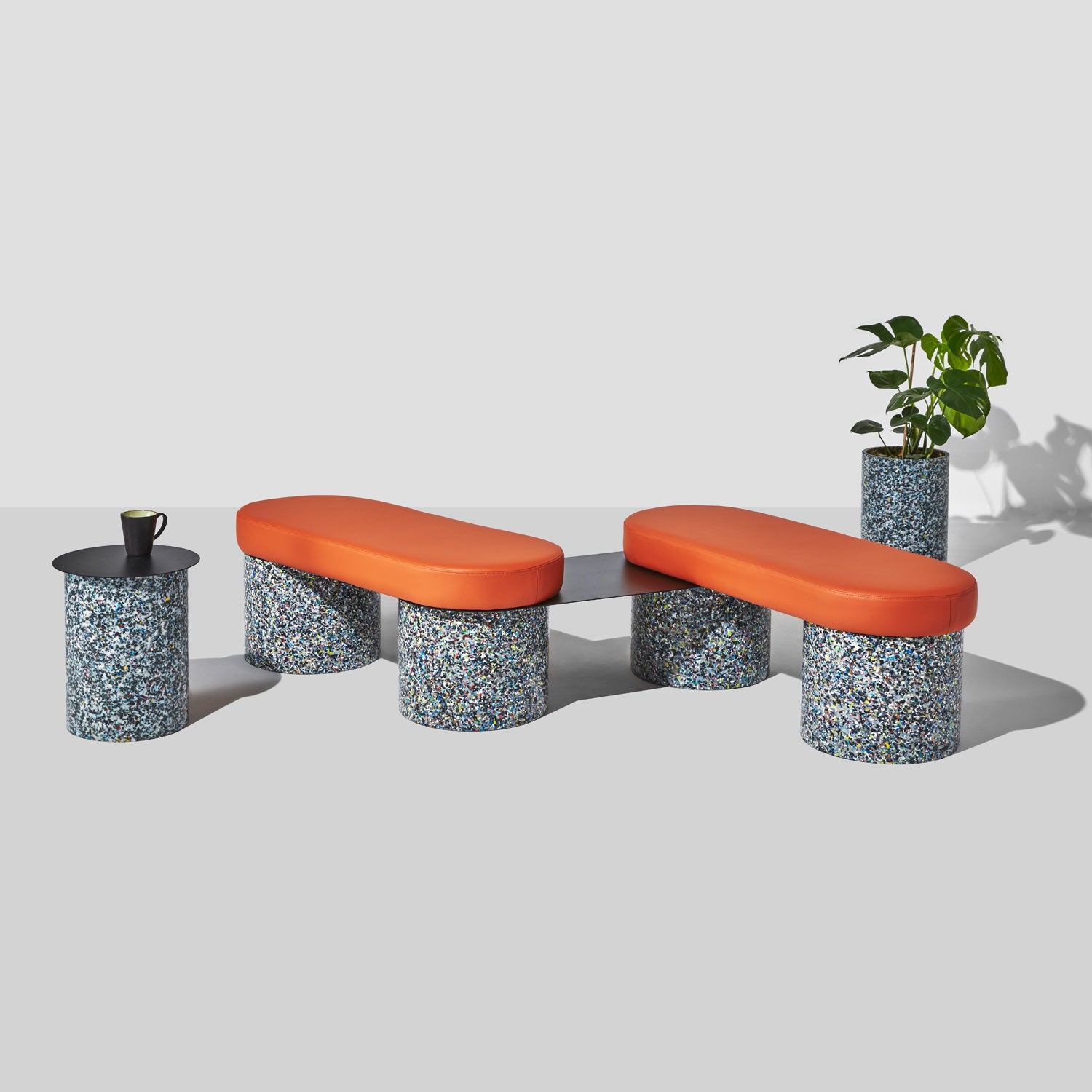 Confetti Range | 100% Recycled Plastic Indoor/Outdoor Furniture | DesignByThem | GibsonKarlo