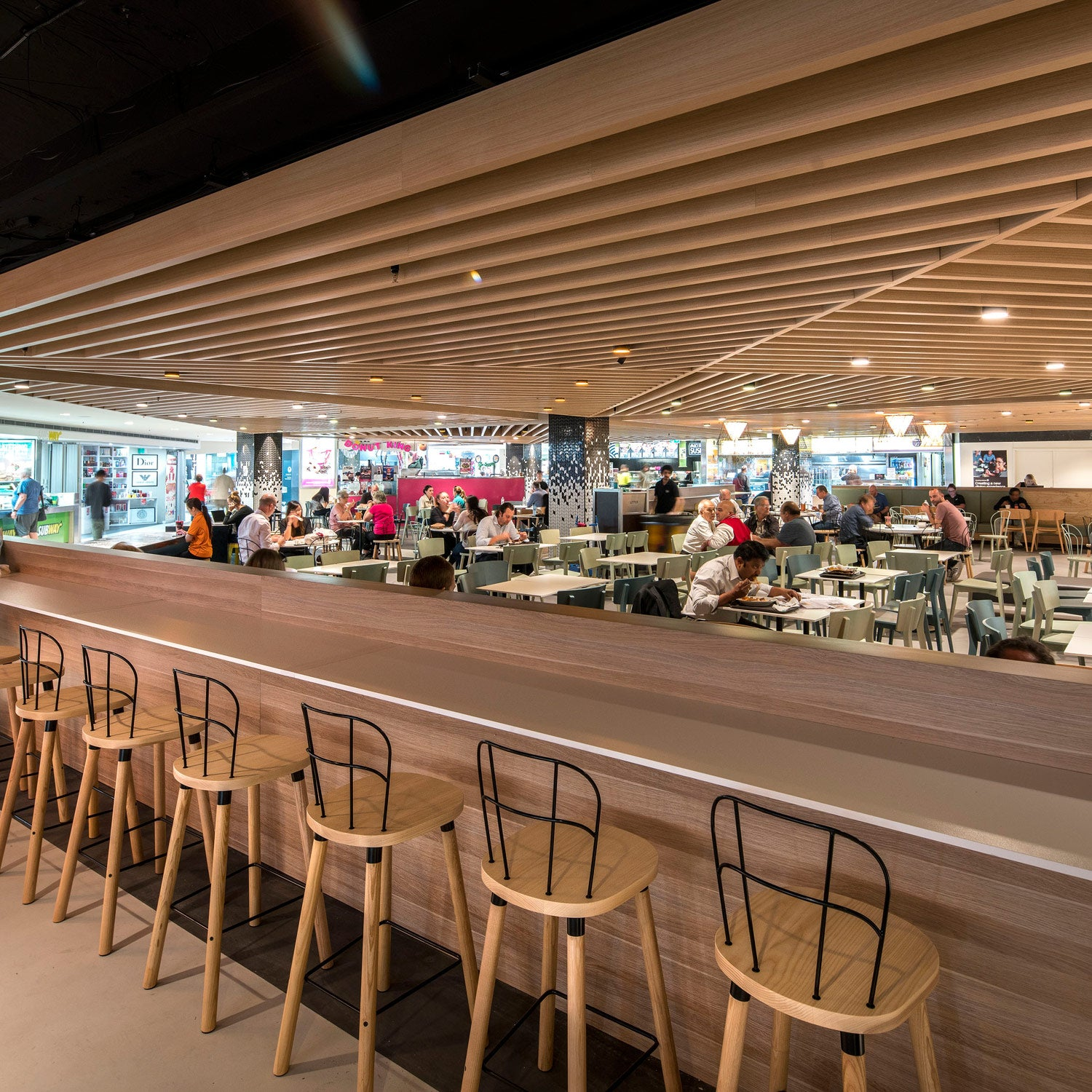 Partridge Bar Chair | Leffler Simes | MarketPlace Leichhardt Food Court