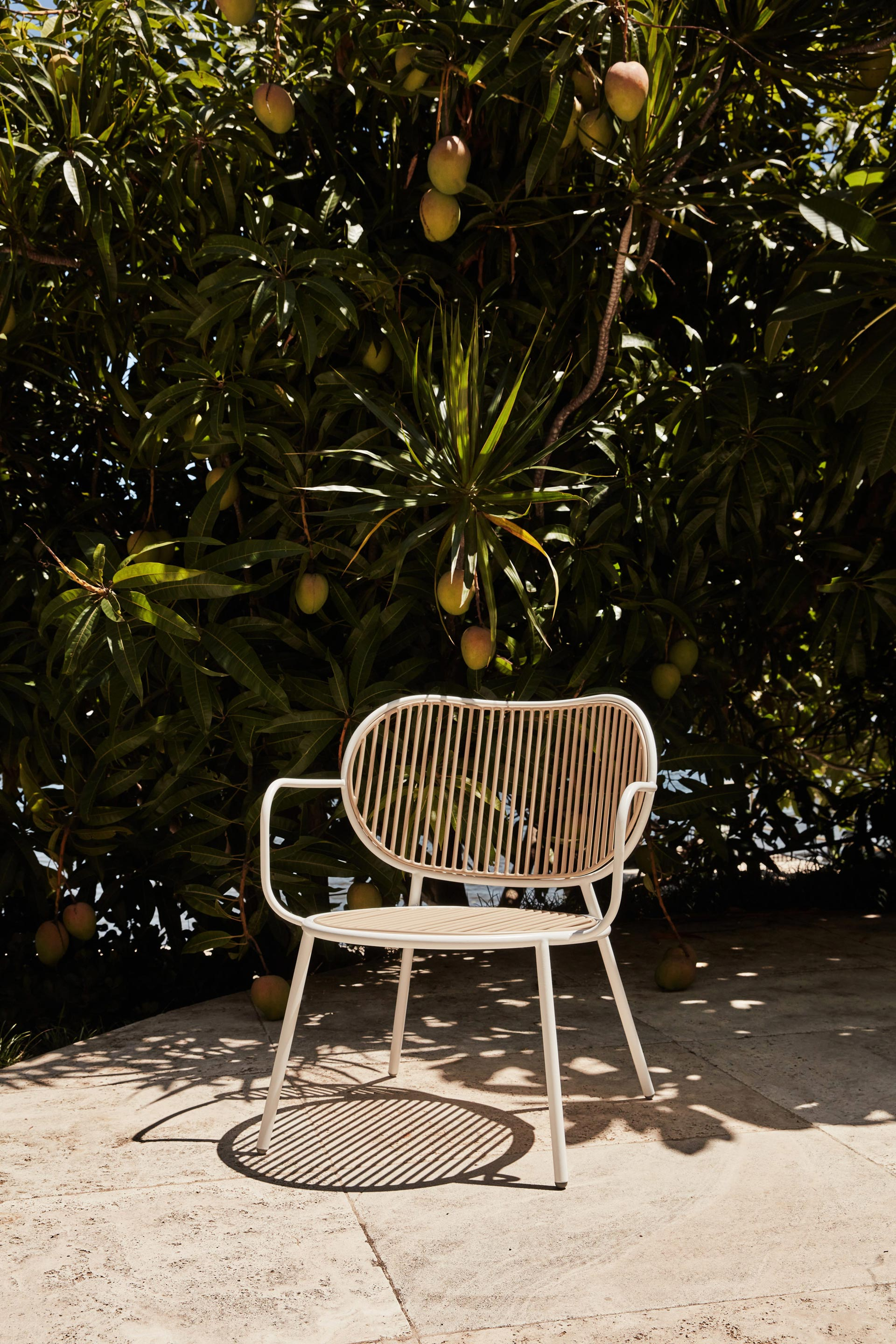 Piper Lounge Chair | Stainless Steel Indoor Outdoor Furniture | Sarah Gibson & Nicholas Karlovasitis | DesignByThem