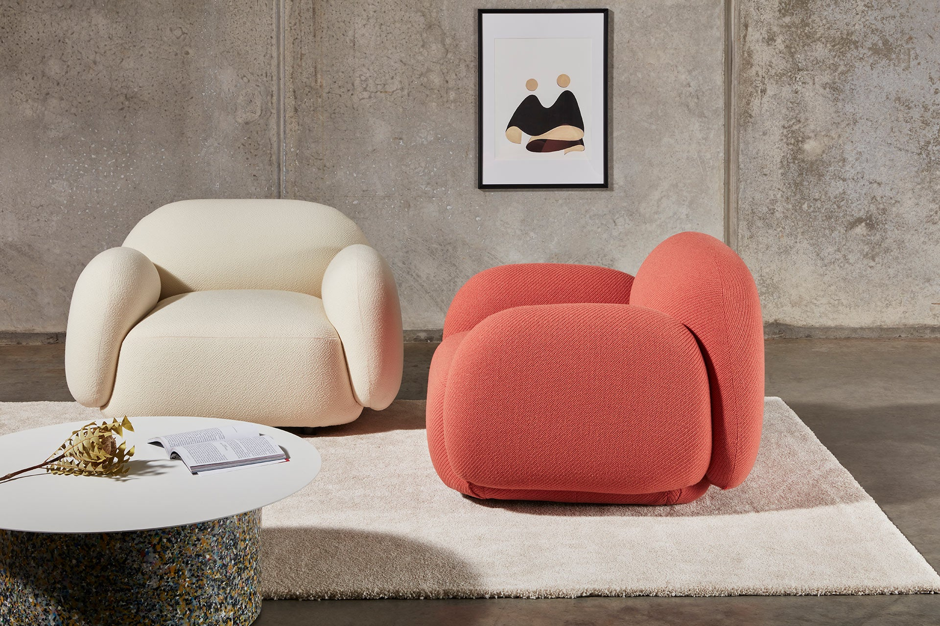 Sundae Armchairs & Lounges | Upholstered Home and Commercial Seating | Jason Ju | DesignByThem