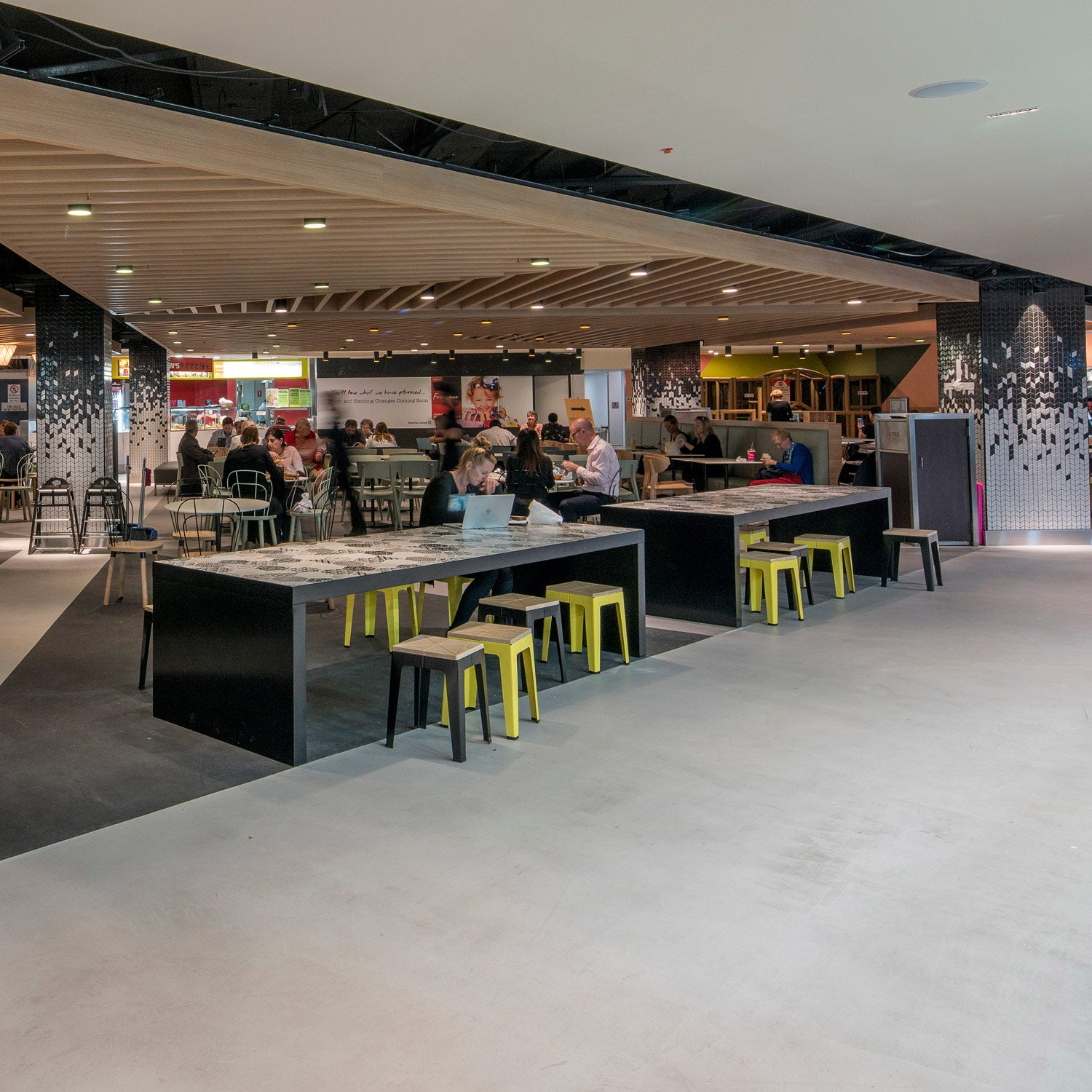 Timber Tuck Stool | Leffler Simes | MarketPlace Leichhardt Food Court